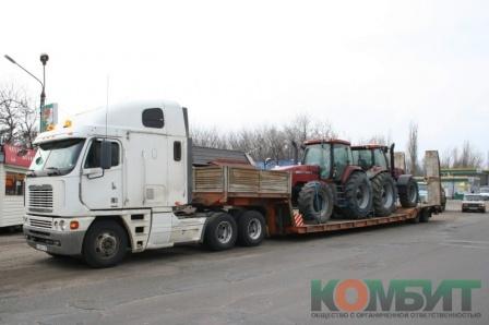 Перевозка тракторов Case MX270 по маршруту Санкт-Петербург - Воронеж