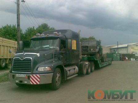 Перевозка тягача КРАЗ по маршруту Воронеж - Краснодарский край