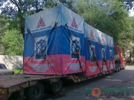 Перевозка оборудования по маршруту Воронеж - Мурманск